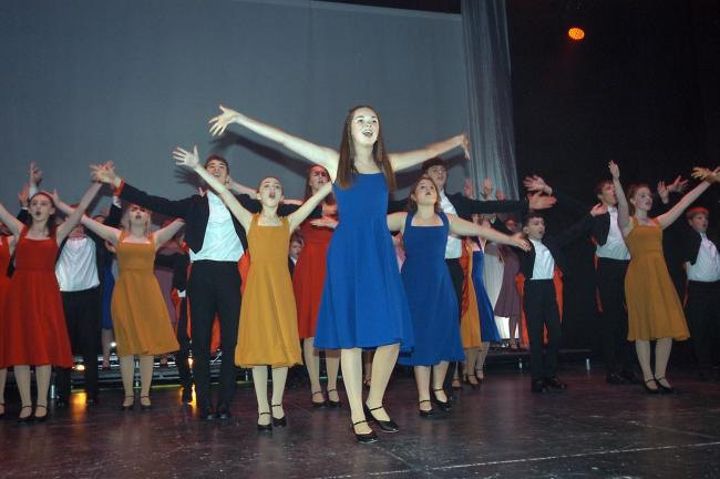 Non stop song and dance from the WOW show at the Pavilion Theatre, Weymouth this week.