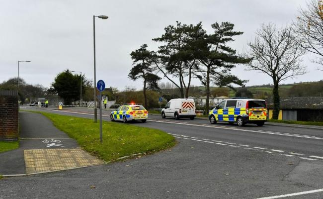 The A35 Sea Road South in Bridport when it was closed due to the fatal crash Picture: GRAHAM HUNT PHOTOGRAPHY