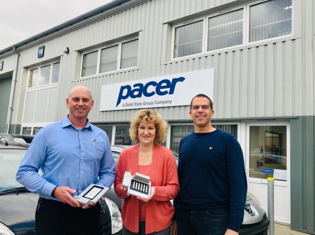L to R - Jon Beeching, Manager of Pacer Weymouth, Wendy Vinson, Pacer Marketing and Communications Manager and Mickey Jones, Chief Executive of DJ Property.