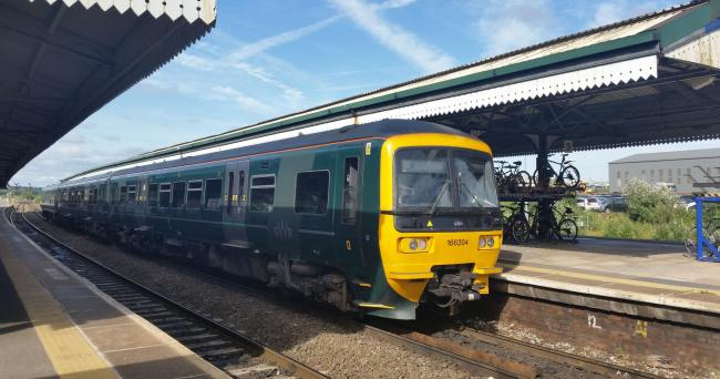 Great Western Railway train at Westbury (Weymouth to Bristol line) Picture: Great Western Railway