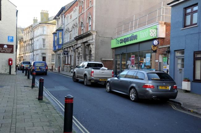 Road works to start on Portland, Co-Op on Queens Road. 21/01/20, PICTURE: FINNBARR WEBSTER/F30840