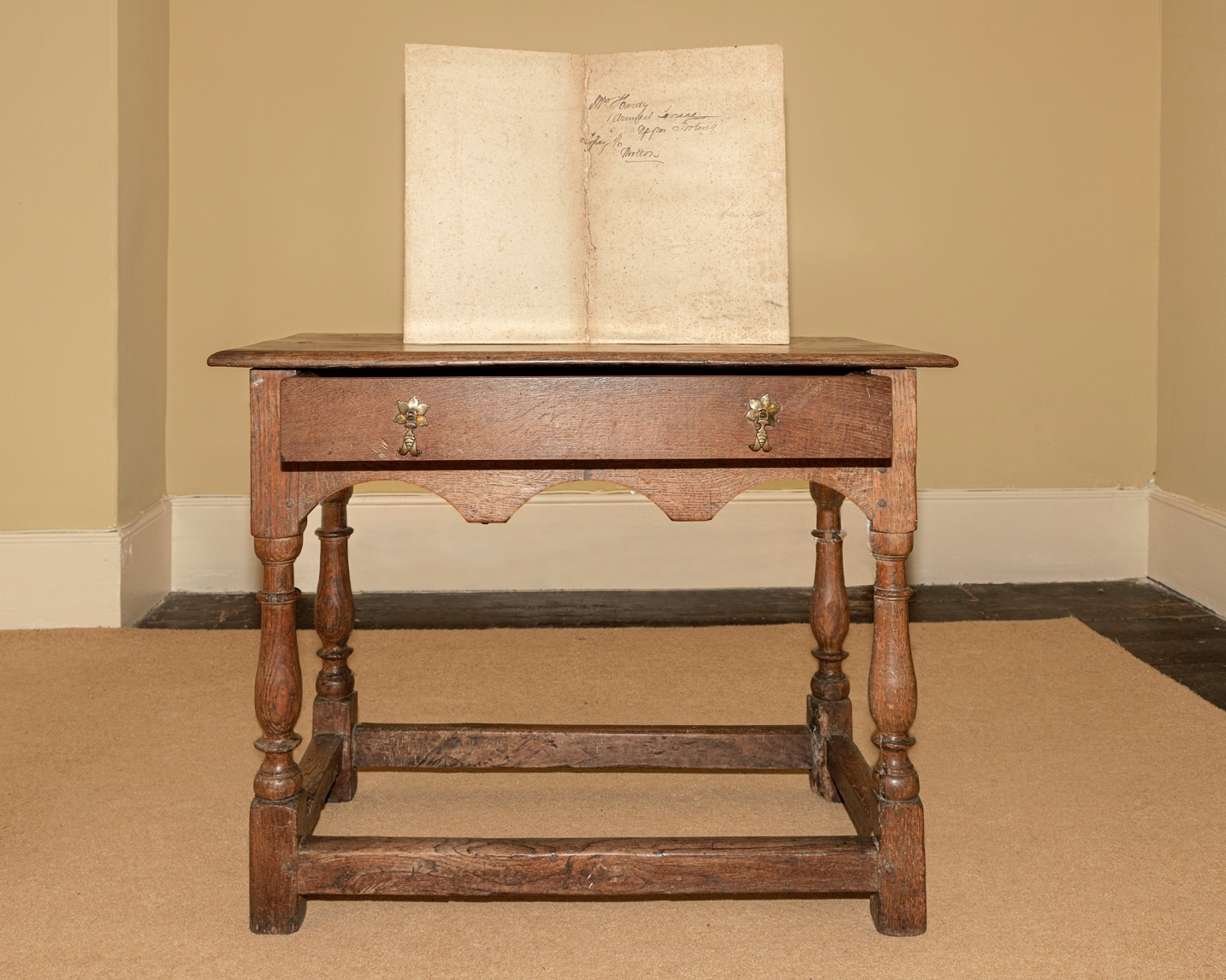 Thomas Hardy's table has returned home after more than 80 years away
