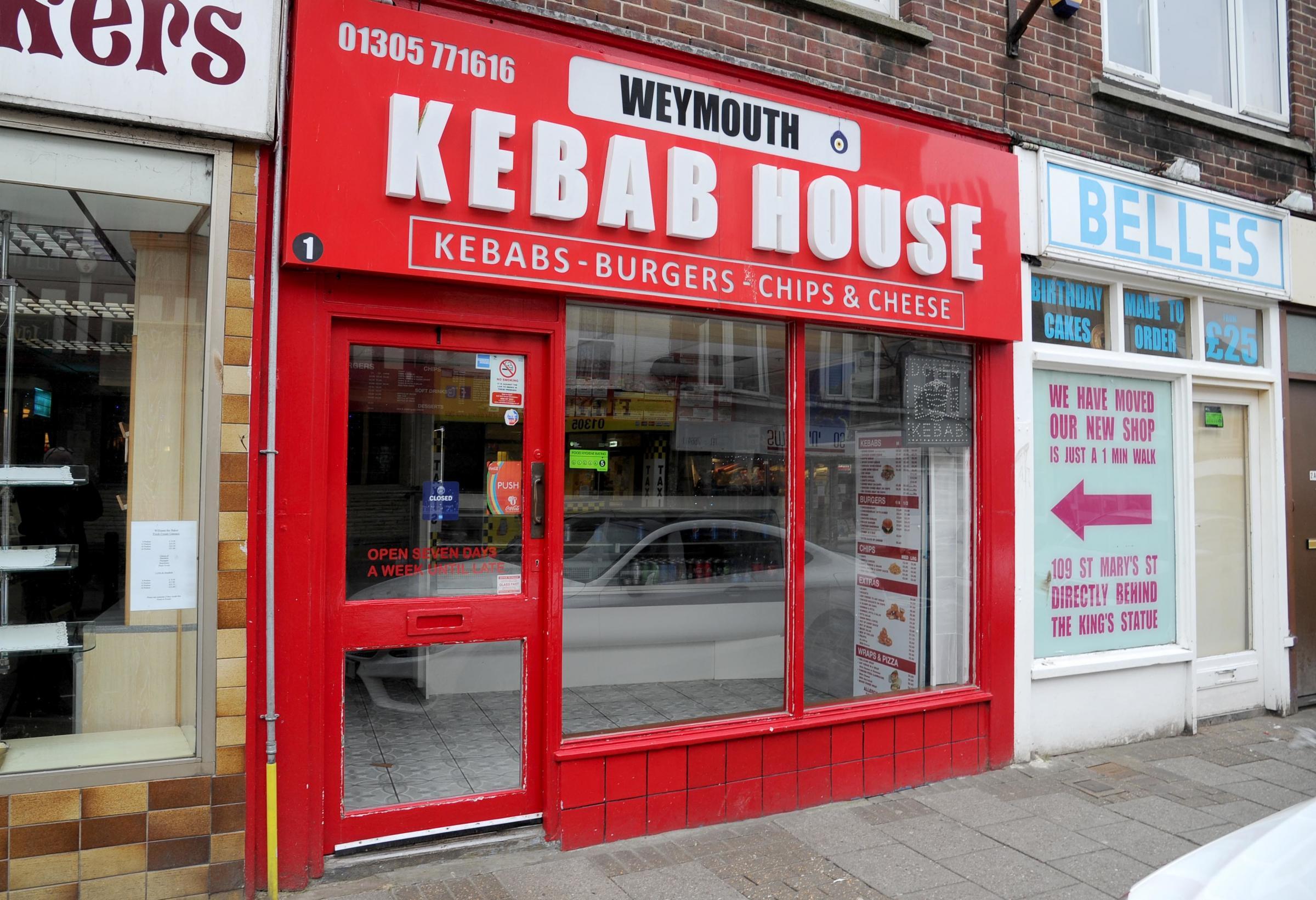 Alcohol night sale plan for Weymouth Kebab House