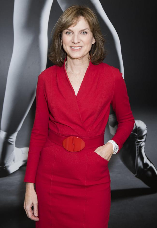 Fiona Bruce     Picture: PA