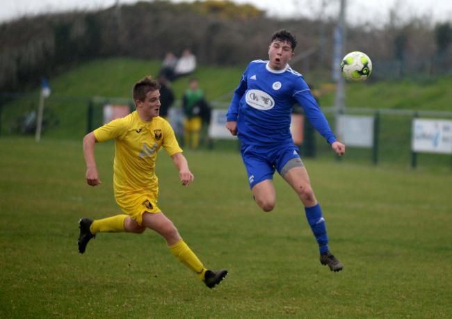 Portland United's home clash with Lymington has been postponed on safety grounds Picture:  FINNBARR WEBSTER/F30852N