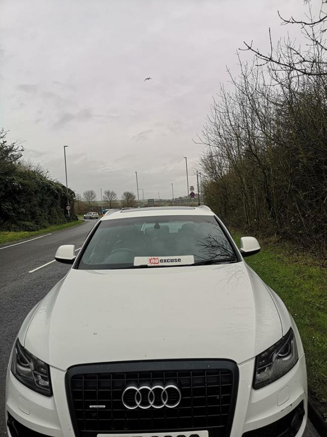 The car seized by police       Picture: Dorset Police