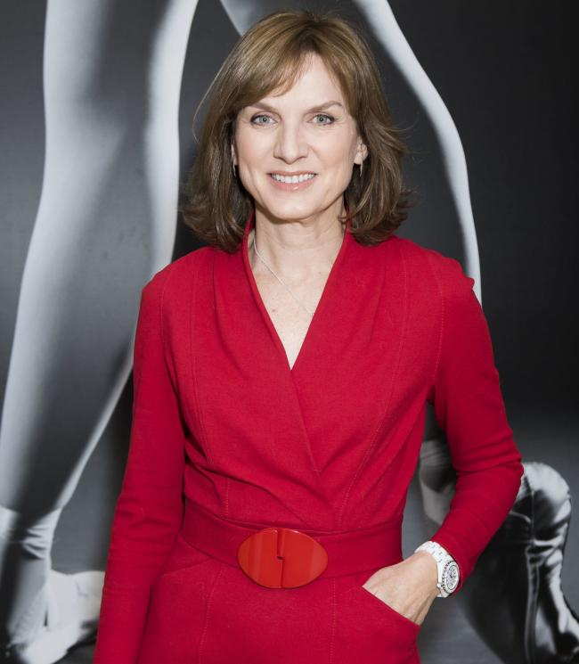 Question Time presenter Fiona Bruce  Picture: PA