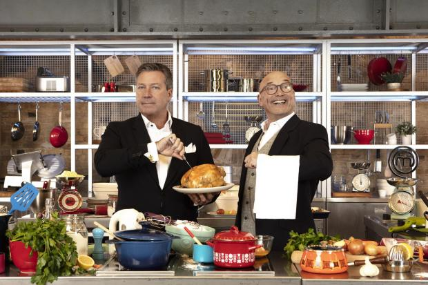 Undated BBC Handout Photo from MasterChef Ð Series 16. Pictured: (L-R) John Torode and Gregg Wallace. PA Feature SHOWBIZ TV MasterChef. Picture credit should read: PA Photo/BBC/Shine TV. WARNING: This picture must only be used to accompany PA Feature