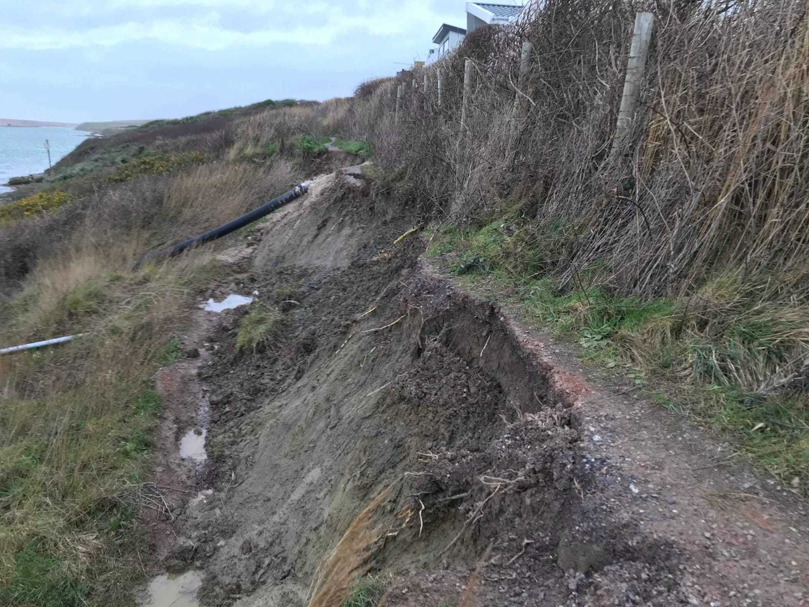 Coast path may never reopen due to 'significant erosion' and safety fears