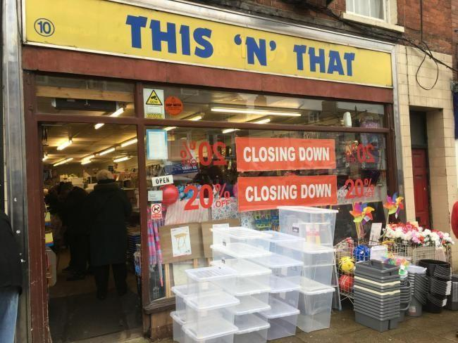 Flats plan for former town centre shop