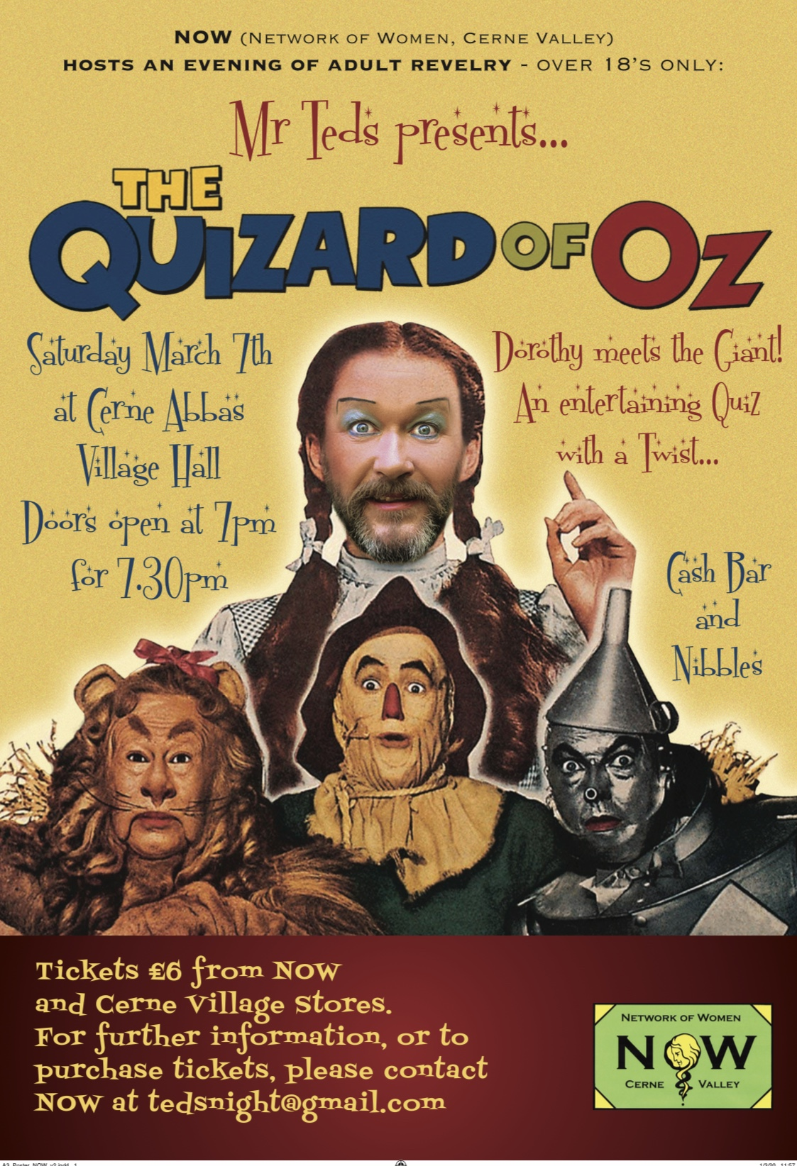The Quizard of Oz: Dorothy meets The Giant