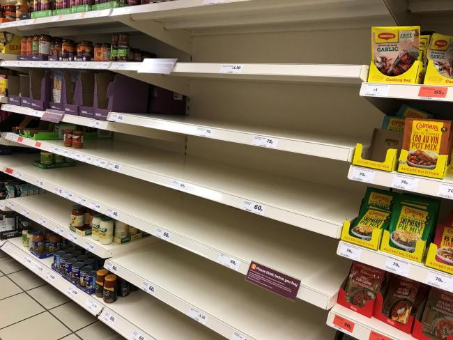 Panic buying is back as people fear second lockdown