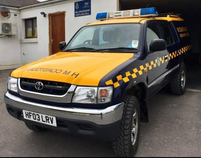 Man taken to hospital after fall on a boat in Portland Picture: PORTLAND BILL COASTGUARD RESCUE TEAM