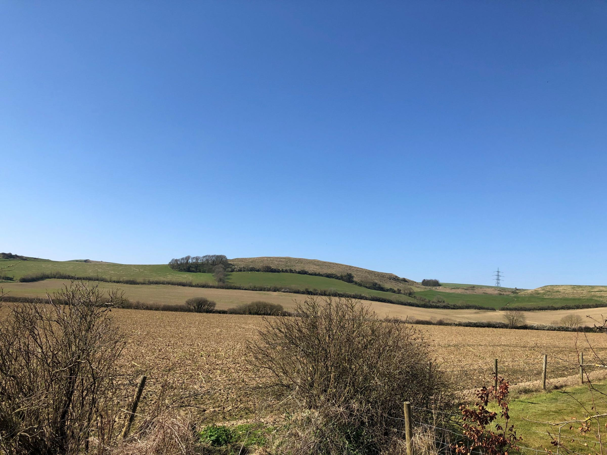 Don't be bored stuck at home on this beautiful day - send us your view!