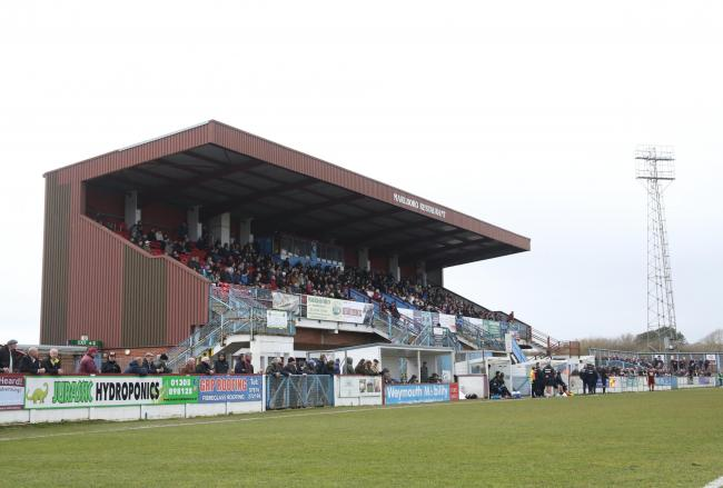 Weymouth could host 800 fans against Halifax next Saturday Picture: MARK PROBIN