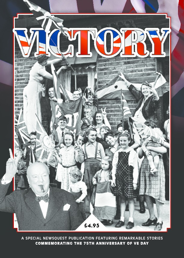 Get hold of a copy of our special Victory magazine celebrating the 75th anniversary of VE Day