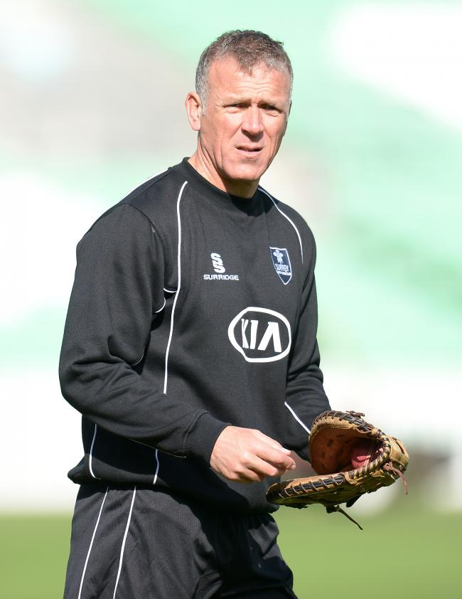 File photo dated 08-04-2014 of Surrey coach Alec Stewart. PRESS ASSOCIATION Photo. Issue date: Wednesday October 8, 2014. The fall-out from Kevin Pietersen's autobiography continued on Wednesday night as ex-England captain Alec Stewart said he had tol