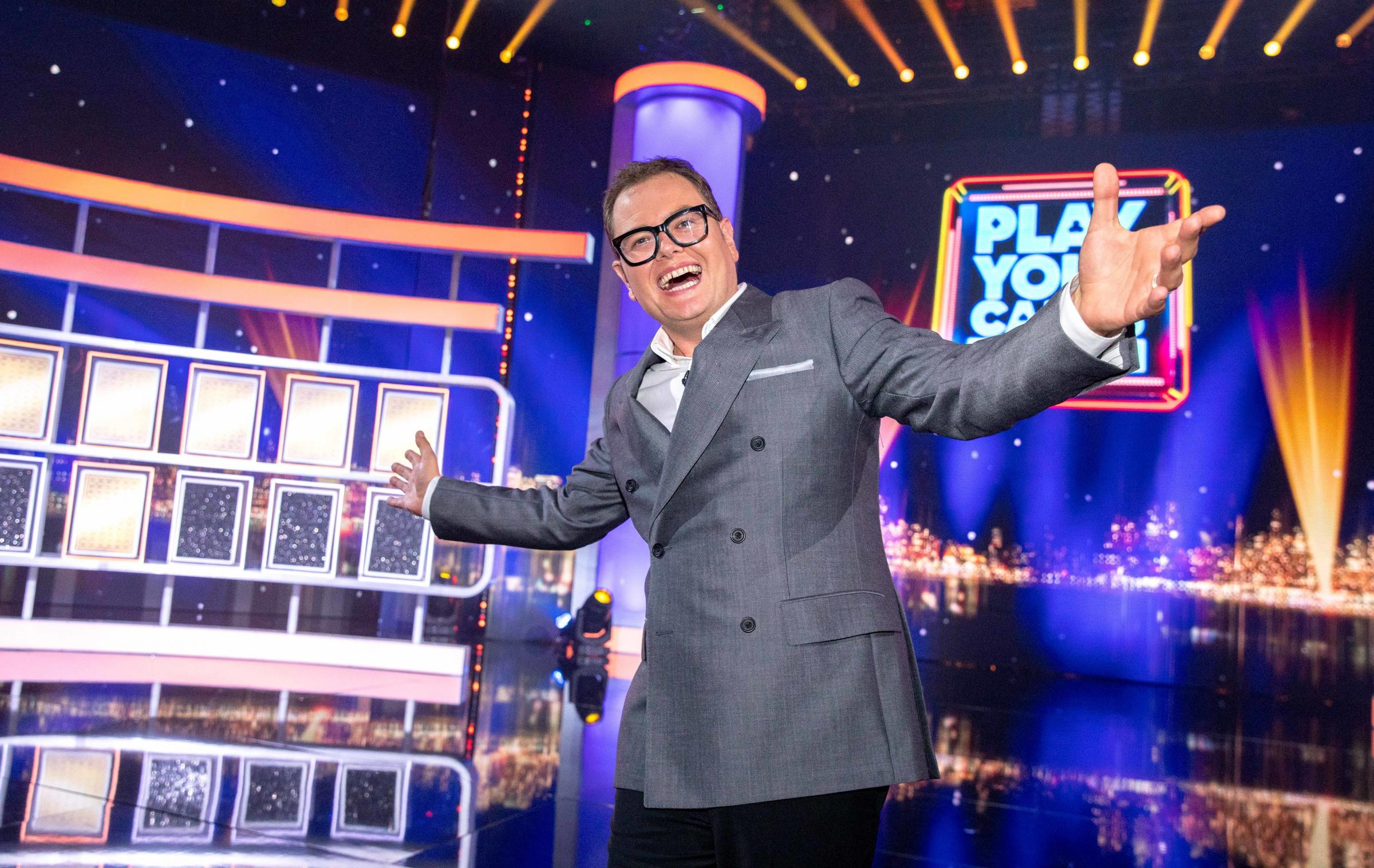 'Good game': Alan Carr on how his Epic Gameshow reboots our favourite TV programmes