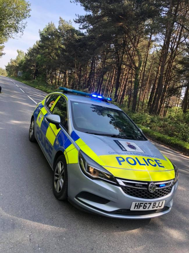 Police on patrol           Picture: Purbeck Police