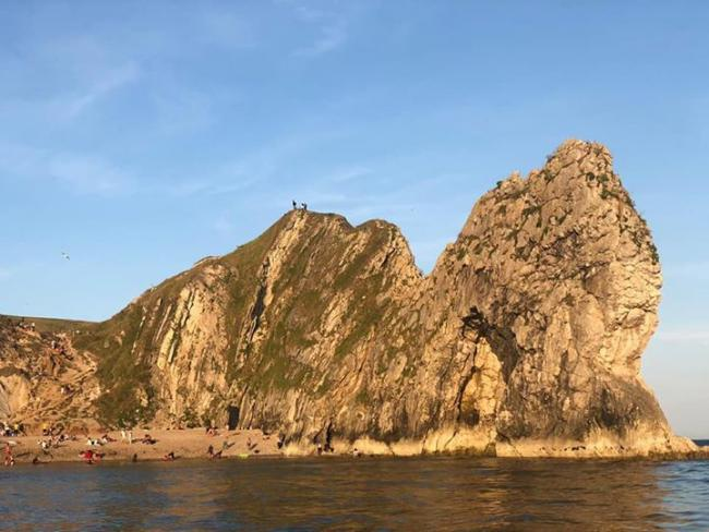A search was carried out between Durdle Door and Bat's Head. Picture: WYKE COASTGUARD