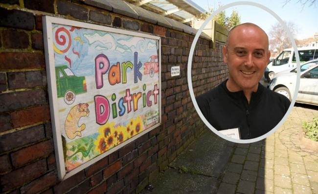 Inspector Barry Gosling of Weymouth police says officers are tackling problems in the Park District
