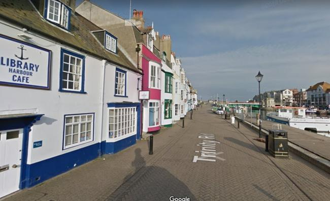 Weymouth Harbour will be pedestrianised Picture: Google Maps