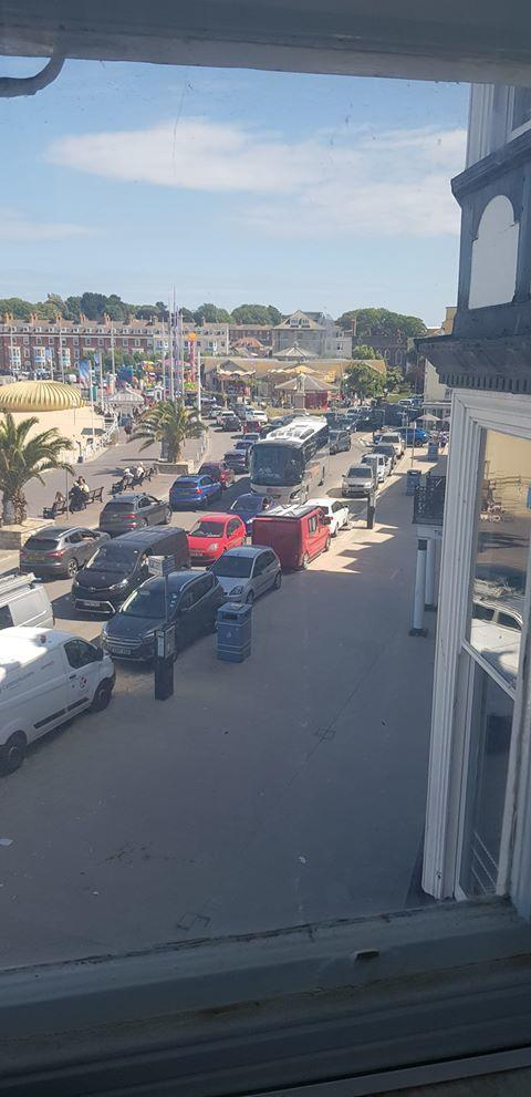 Weymouth was 'gridlocked' said residents