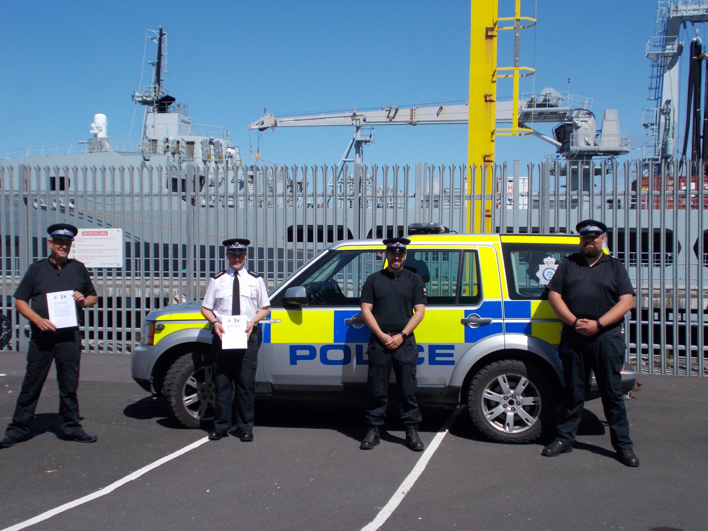 Dorset and Portland Port Police set to work more closely after signing Memorandum of Understanding