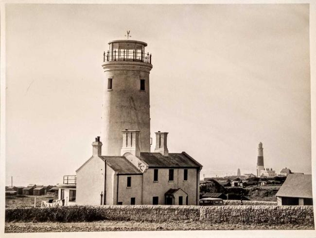 The old lower lighthouse (bird observatory), Portland Picture: Harry Green