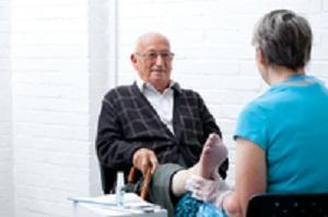 Age UK NSWD is offering a toenail clipping service