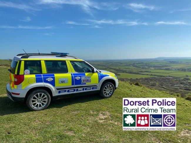 A 'suspcious' looking vehicle has been spotted in North Dorset. Picture: DORSET POLICE RURAL CRIME TEAM