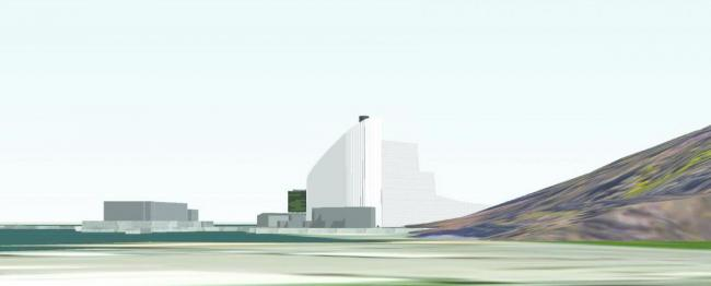 The proposed Portland waste incinerator Picture: Powerfuel Portland