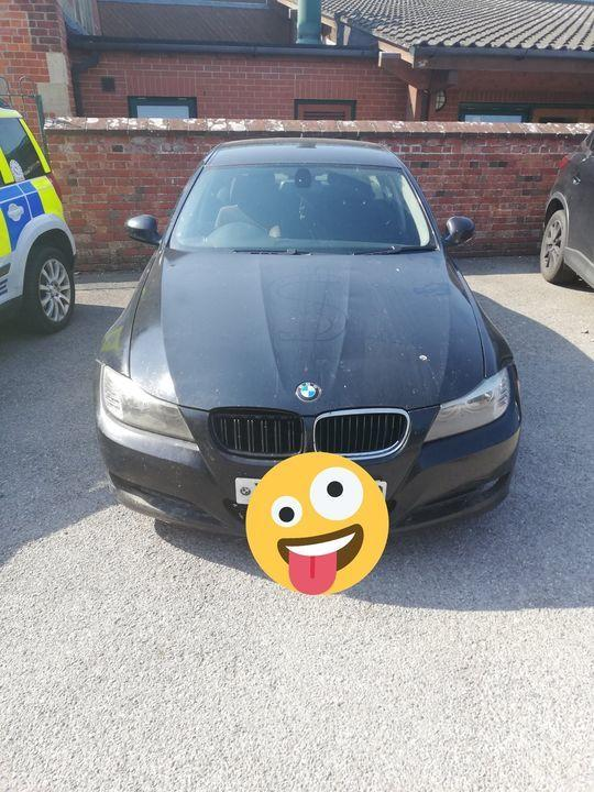 A BMW has been seized in Gillingham for driving offences