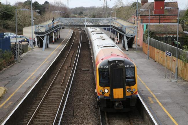 Man dies at Hinton Admiral train station after electrocution