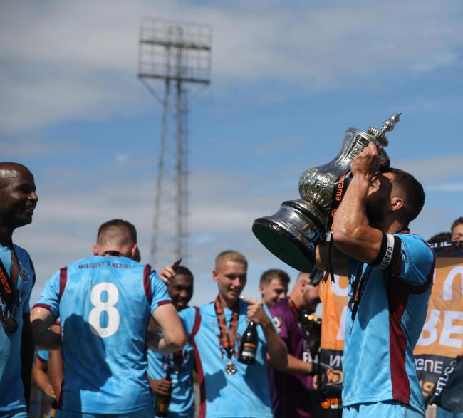 Weymouth are among 67 clubs to receive financial support from the Government ahead of the National League season on Saturday Picture: MARK PROBIN