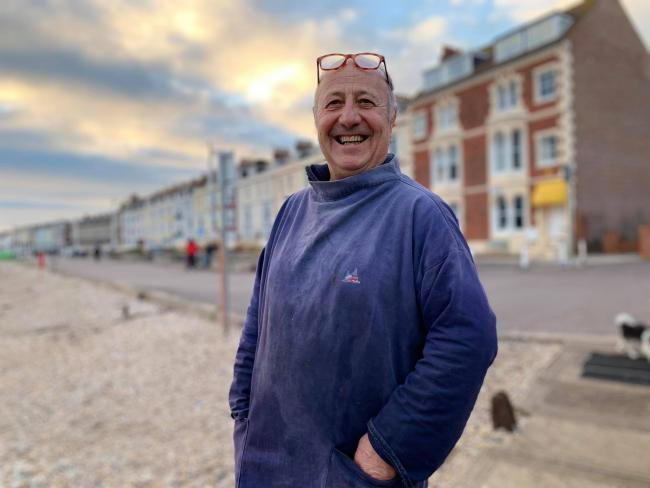 Peter Townsend, who is the licence holder of Aunty Vi's cafe on Weymouth Beach Picture: Peter Townsend