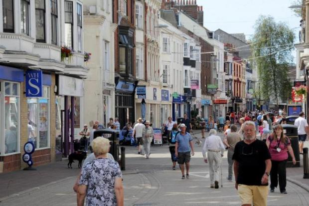 Dorset Echo: A number of shops have shut in Weymouth town centre due to the pandemic