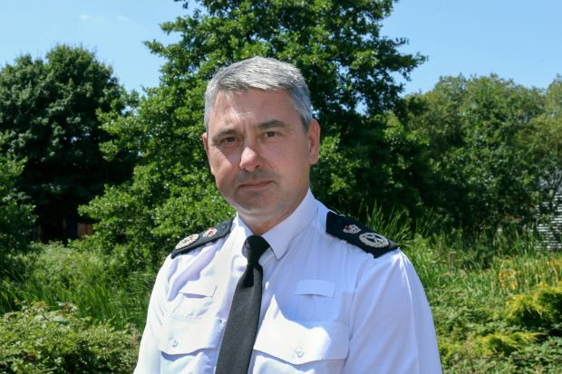 Dorset Echo: Chief Constable James Vaughan wants to hear Dorset residents' views on what crime police officers should focus on