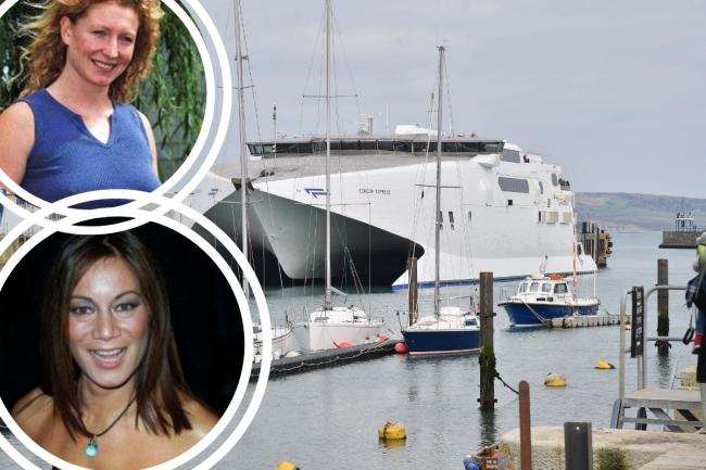 How these TV stars caused a stir on Weymouth's Channel Islands ferry