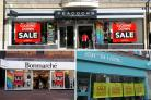 Three stores in Weymouth town centre hold closing down sales