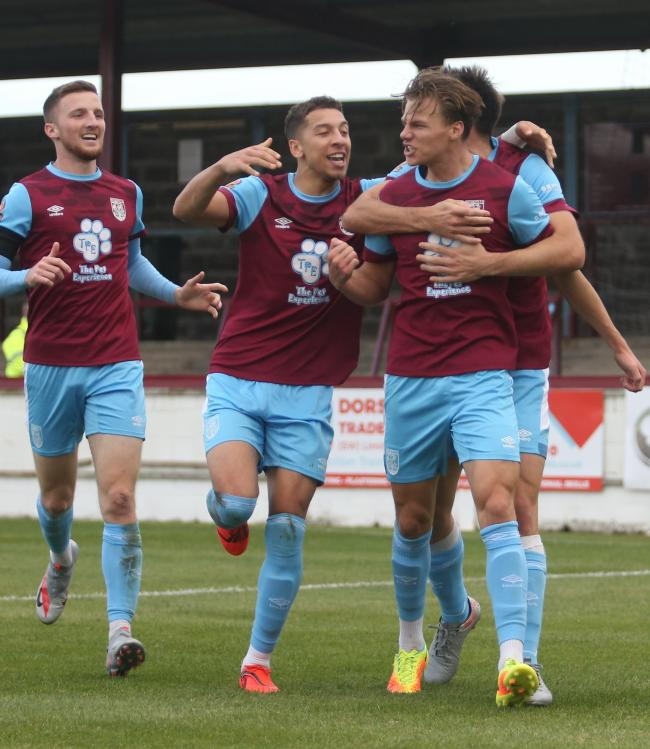 Weymouth took their first win of the season on Saturday 	            Picture: MARK PROBIN