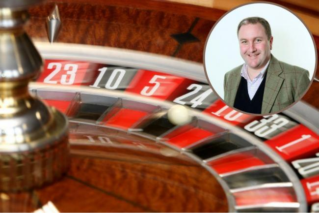 Simon Hoare hopes to support young people suffering with gaming and gambling problems