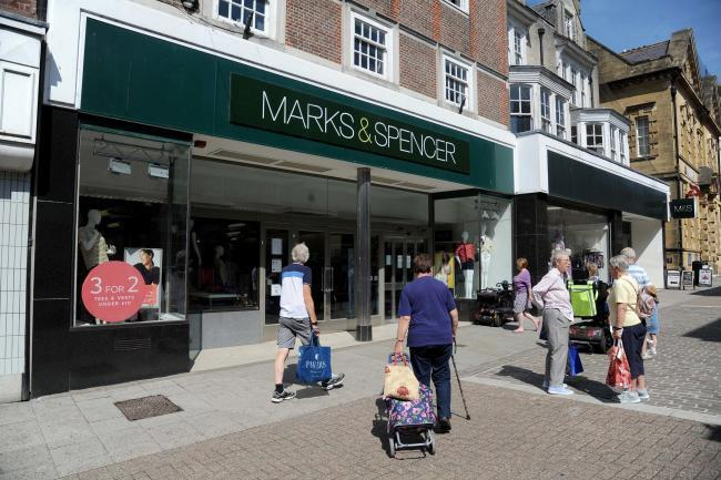 'The closure of M&S certainly contributed to the down-turn'