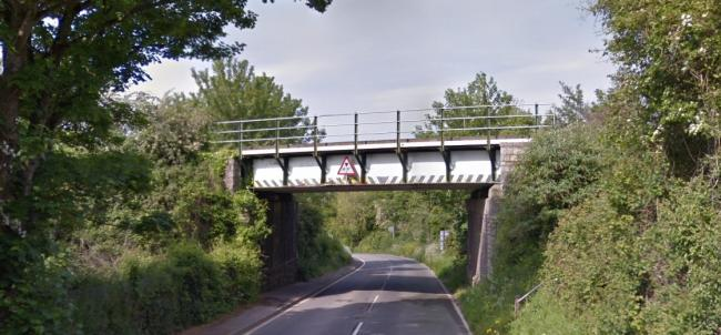 Dorchester Road will be shut to allow trees and weeds to be trimmed and cut. Picture: Google