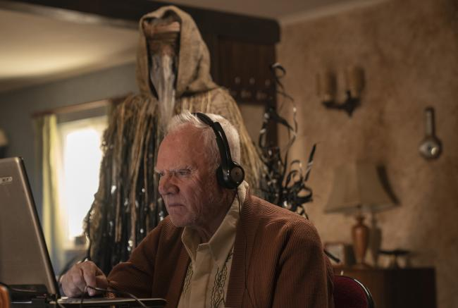 Malcolm McDowell as Richard Picture: PA Photo/Stolen Pictures/ Amazon Prime Video