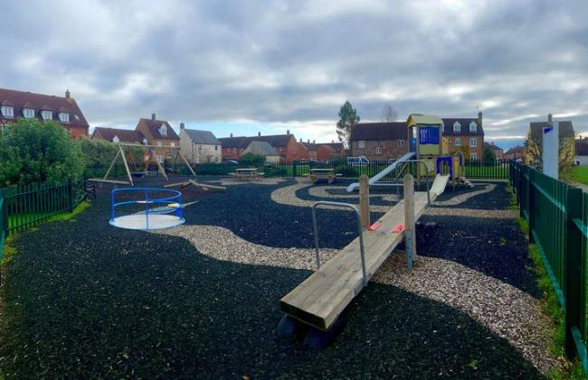 Police are stepping up patrols at the play park   Picture: North Dorset Police