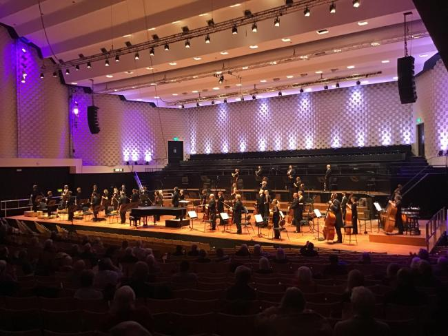 The Bournemouth Symphony Orchestra's Grosvenor plays Chopin performance at Poole Lighthouse