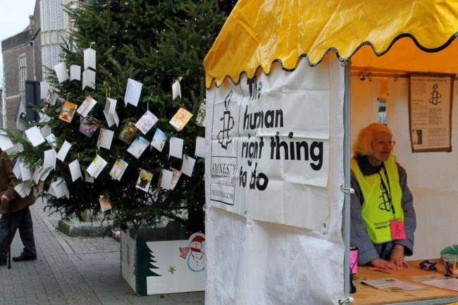 Dorchester and District Amnesty Group's Tree of Hope