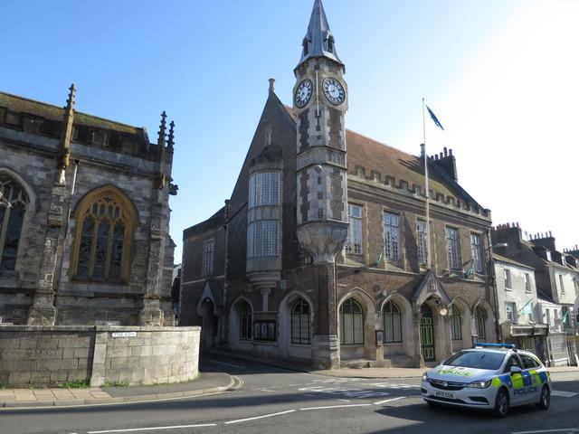 The biomass boiler is planned for Dorchester Corn Exchange
