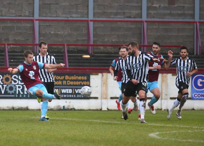 Weymouth pushed Notts County all the way in a 1-0 defeat Picture: MARK PROBIN